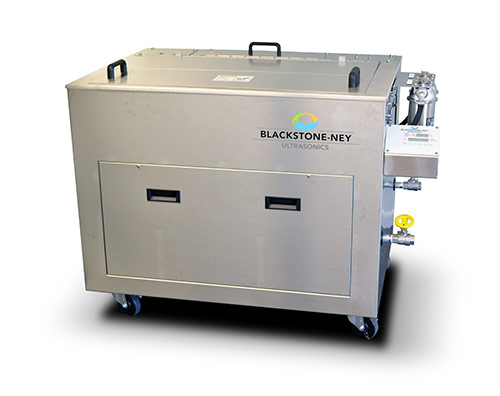Blackstone-NEY Ultrasonics Introduces the Stainless-Steel GMC Series Ultrasonic Cleaning System.