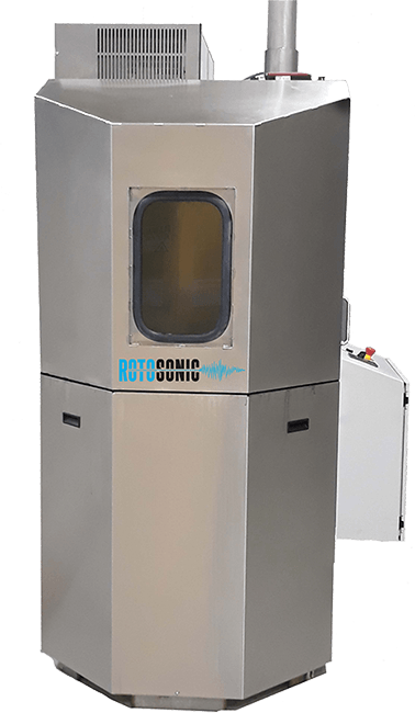 The Rotosonic Combination Spray and Ultrasonic Cleaning System will thoroughly clean heavily soiled parts in a one system for maximum cleaning efficiency.