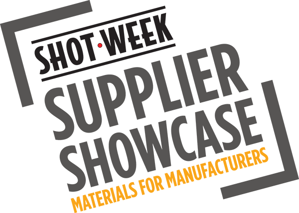 Shot Week supplier showcase materials for manufacturers