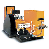 High Pressure Debur Machines