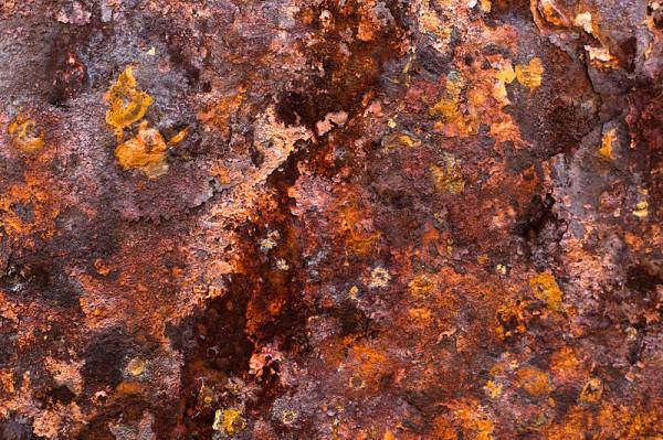 Illustration of Rust on Iron